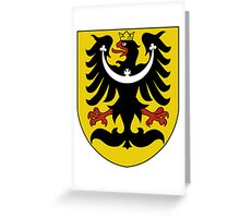 Silesia Coat of Arms  Greeting Card