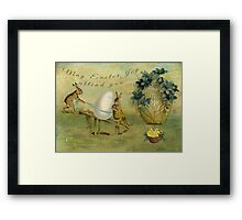 May Easter Joy Attend You Framed Print