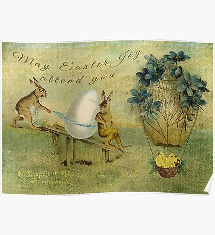 May Easter Joy Attend You Poster