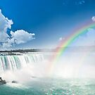 Rainbows at Niagara Falls by Elena Elisseeva