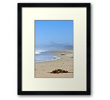 Coast of Pacific ocean in Canada Framed Print