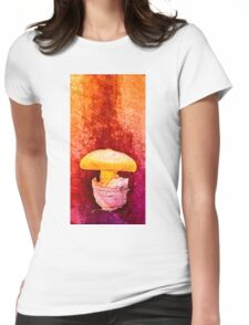 fungus Womens Fitted T-Shirt