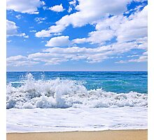 Ocean surf Photographic Print