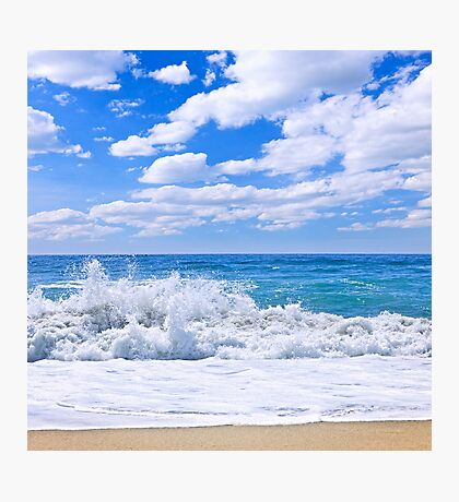 Ocean surf Photographic Print