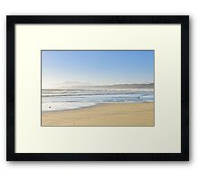 Coast of Pacific ocean, Vancouver Island, Canada Framed Print