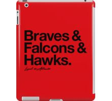 Loyal to Atlanta (Black Print) iPad Case/Skin