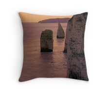 Pinnicles Throw Pillow