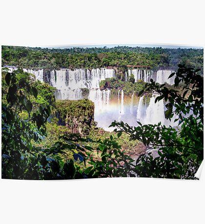 Iquazu Falls - South America Poster