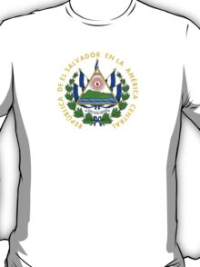 Coat of Arms of El Salvador  T-Shirt