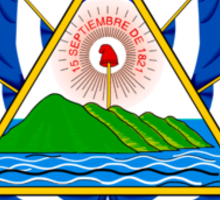 Coat of Arms of El Salvador  Sticker