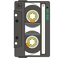 Cassette Tape Photographic Print