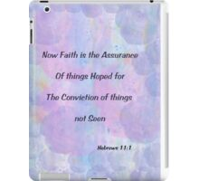 Hebrews 11:1 iPad Case/Skin