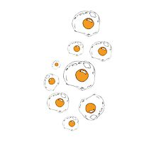 Raining Eggs Photographic Print
