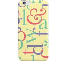 Type & Stripes: Type iPhone Case/Skin