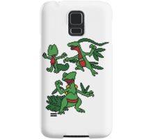 Treecko, Grovyle and Sceptile Samsung Galaxy Case/Skin