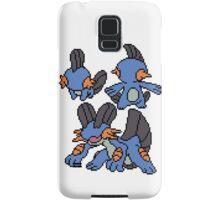 Mudkip, Marshtomp and Swampert Samsung Galaxy Case/Skin