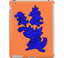 Water Johto Starter Silohouettes iPad Case/Skin
