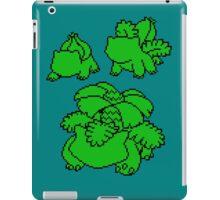 Grass Kanto Starter Silohouettes iPad Case/Skin