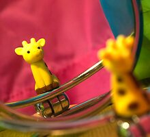 Giraffe in the Mirror by mezzotessitura