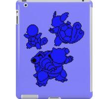 Water Kanto Starters Silohouettes iPad Case/Skin
