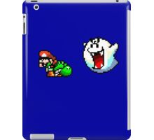 Mario & Yoshi being scared iPad Case/Skin