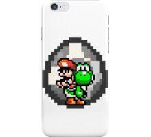 Mario & Yoshi with Egg Background iPhone Case/Skin