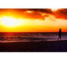 I'm Walking on Sunshine! Photographic Print