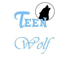 Teen Wolf Blue  by rhizatay