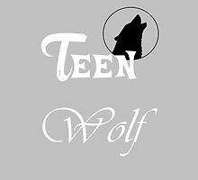Teen Wolf Gray/White by rhizatay