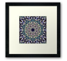 Star Burst Framed Print
