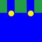 Luigi Suspenders green blue samsung by counteraction