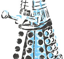 Dalek Graffiti by spacemonkey89