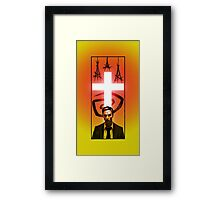 True Detective - Poster Variant Framed Print