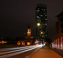 Looking North in Manchester by DMHotchin