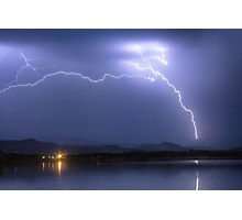 Electrical Arcing Sky Photographic Print