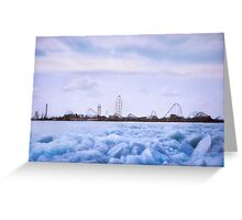 Cedar Point in Winter Greeting Card