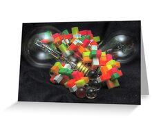 Blocks and Bulbs Greeting Card