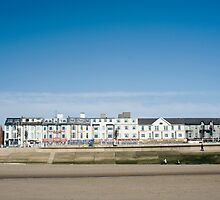 Blackpool seafront guest houses by photoeverywhere