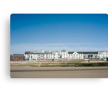 Blackpool seafront guest houses Canvas Print