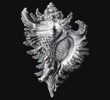 Vintage Sea Shell  One Piece - Short Sleeve