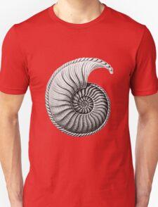 Vintage Ammonite Spiral  T-Shirt