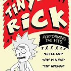 Tiny Rick Concert Poster by b00mskit