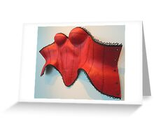 The Red Corset Greeting Card