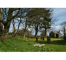 Country village churchyard Photographic Print