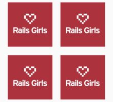 Rails Girls ×4 by rails