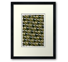 Wolf Wall - Army Man Framed Print