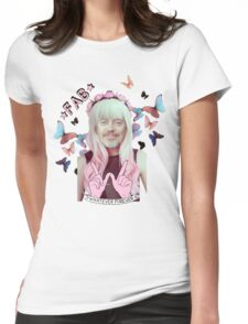 steve buscemi is a pastel goth girl Womens Fitted T-Shirt