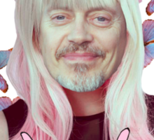 steve buscemi is a pastel goth girl Sticker