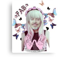 steve buscemi is a pastel goth girl Canvas Print