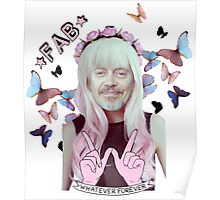 steve buscemi is a pastel goth girl Poster
